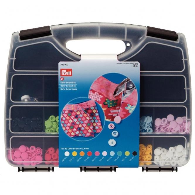 Prym Color Snaps Box und Werkzeug-Set