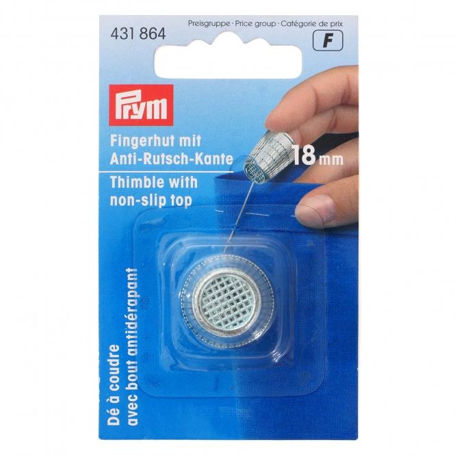 Prym Fingerhut mit Anti-Rutsch-Kante 18mm