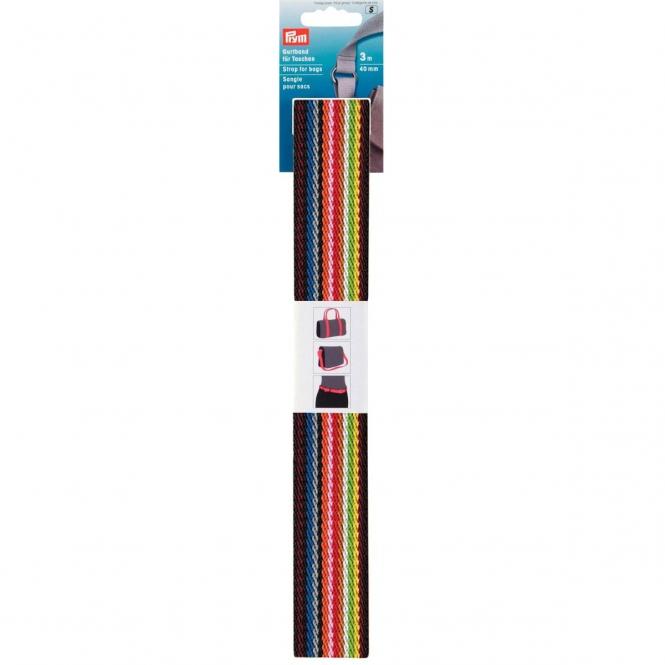 Prym Gurtband 40mm mehrfarbig gestreift