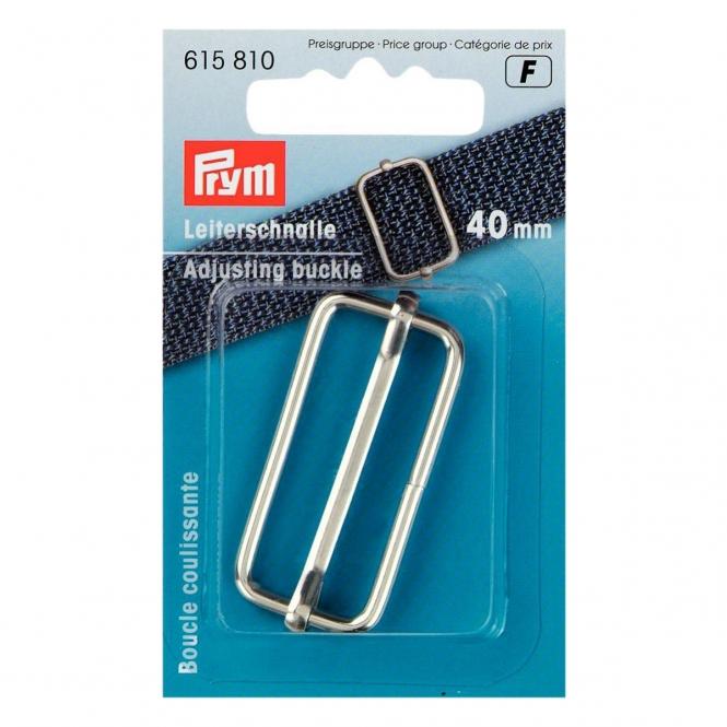 Prym Leiterschnalle 40mm silberfarbig