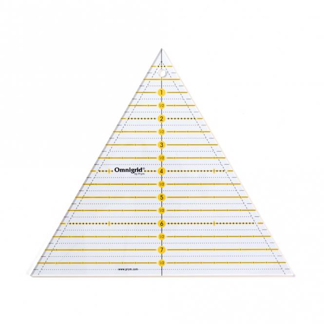 Prym Patchwork-Lineal 60° Dreieck Multi 8 inch