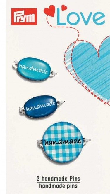 PRYM handmade Label-Set blau