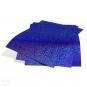 Aufbügelflex HappyFashion Sparkle Blau