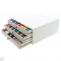 MADEIRA Stickgarntruhe 1000m Rayon aus Holz weiß