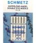 SCHMETZ Doppelöhr-Nadel 5er Pack Stärke 80