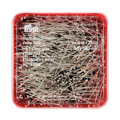 PRYM Stecknadel silber Dose 250g