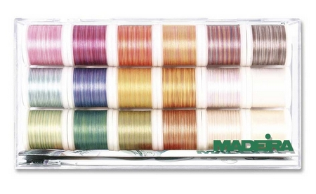 MADEIRA Stickbox Cotona mulitcolor No. 50 18 x 200m
