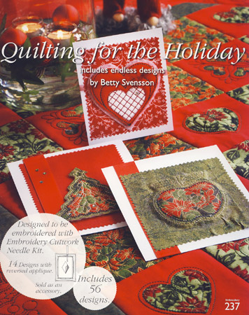 HUSQVARNA Multiformat CD 237 Quilting for the Holiday