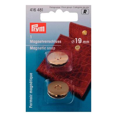 PRYM Magnetverschluss 19mm gold