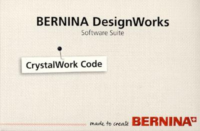 BERNINA Crystalwork Software Aktivierungs - Code