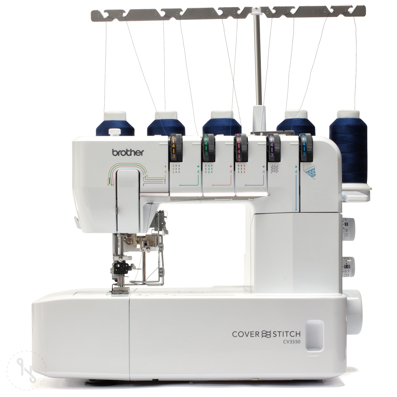 BROTHER CV3550 Cover Stitch Ausstellungsmaschine