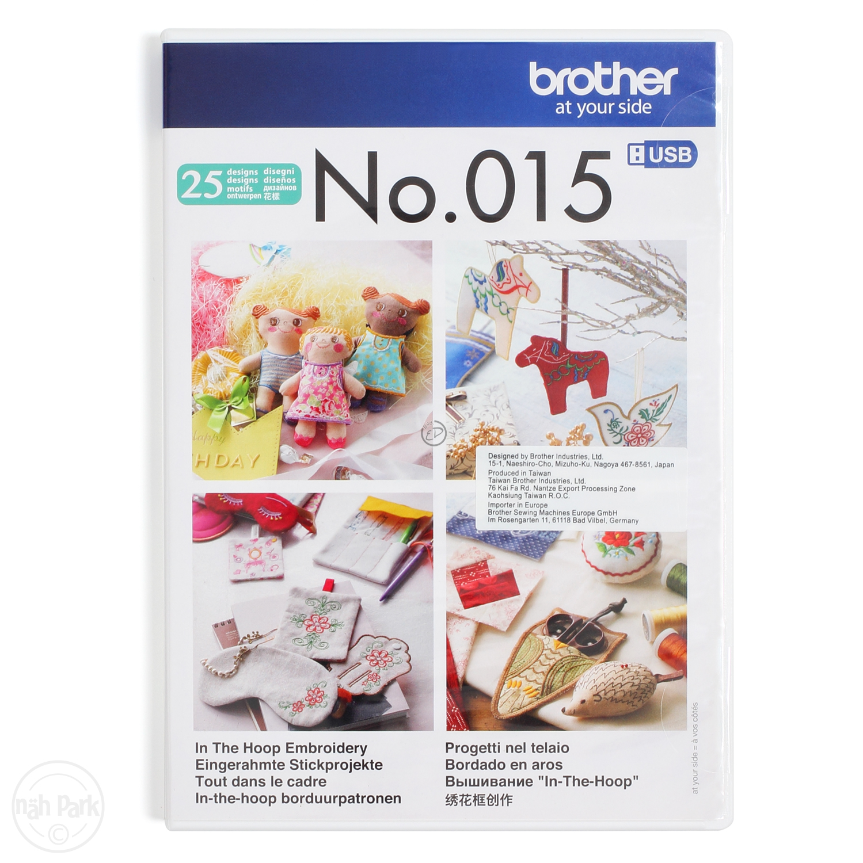 BROTHER Stickmuster USB Nr. 15 Sticken im Rahmen im nähPark kaufen