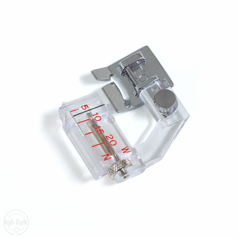 JANOME Schrägbandeinfasser verstellbar 9 mm