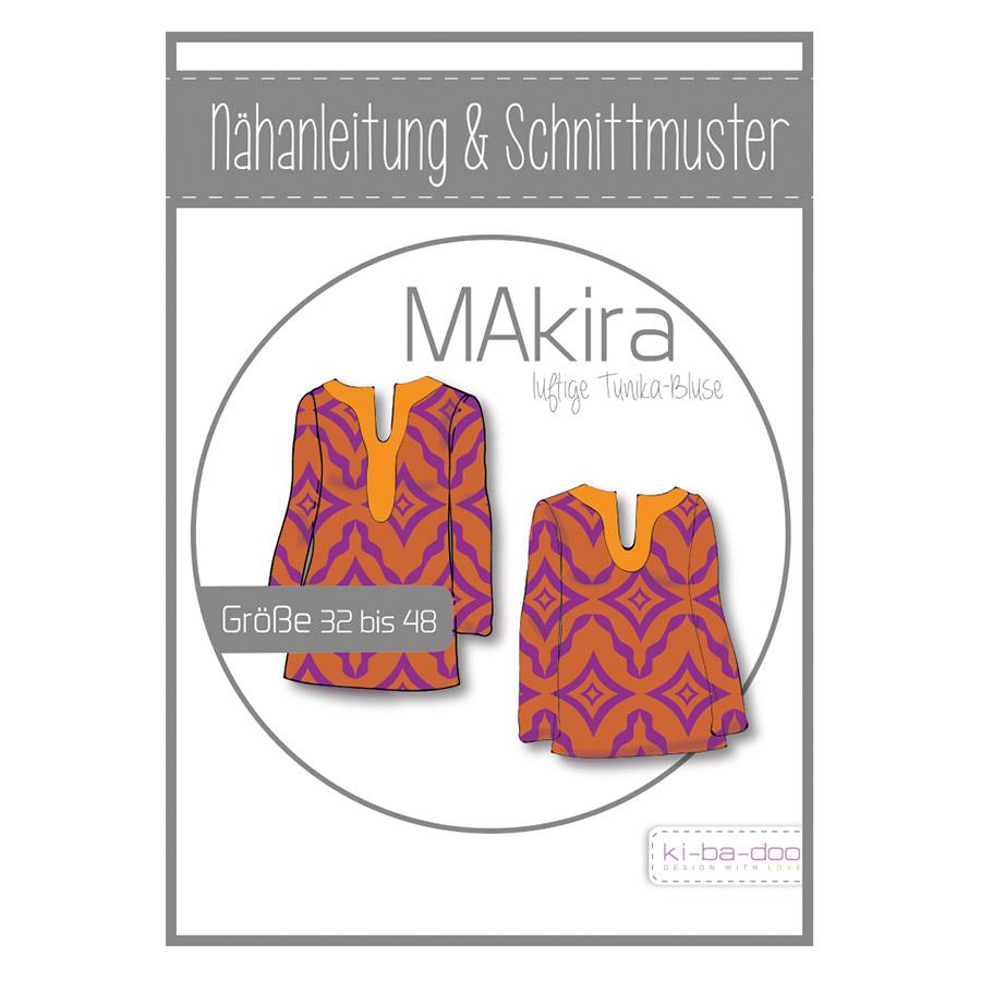 Ki-Ba-Doo Papierschnittmuster Tunika MAkira im nähPark kaufen