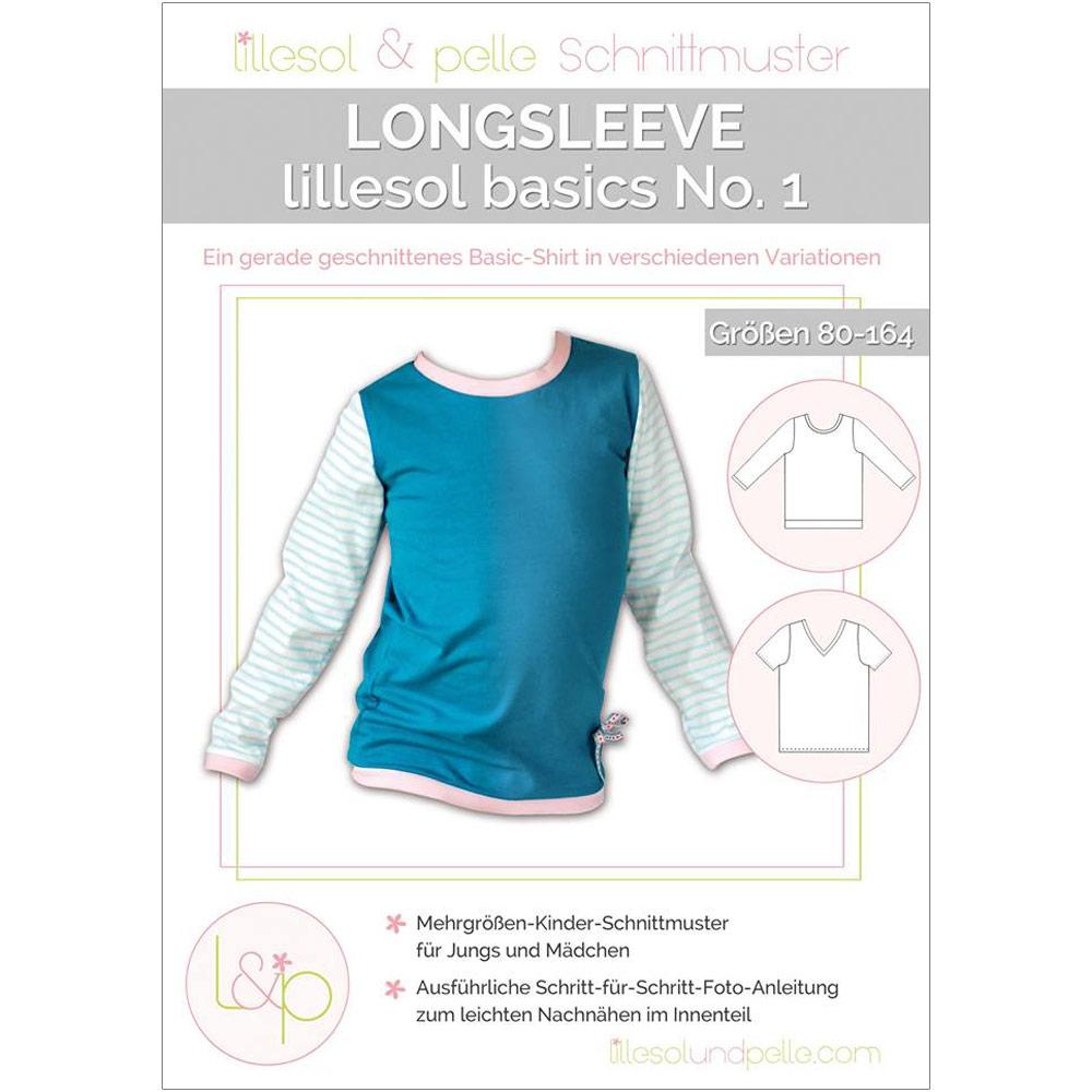 LILLESOL Basics Papierschnittmuster No.1 Longsleeve