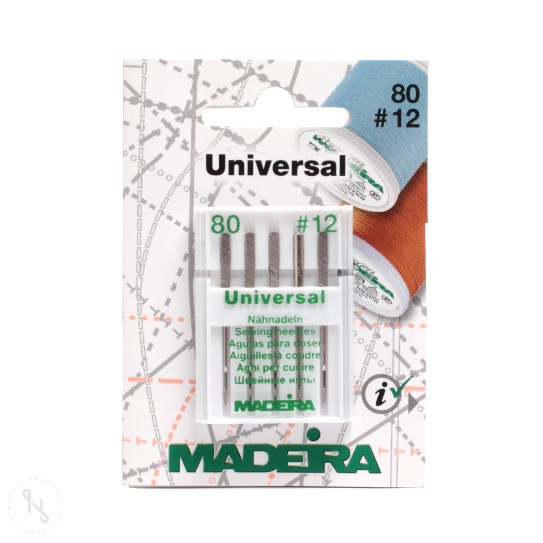 MADEIRA Universal Nähnadeln Stärke 80 5er Pack