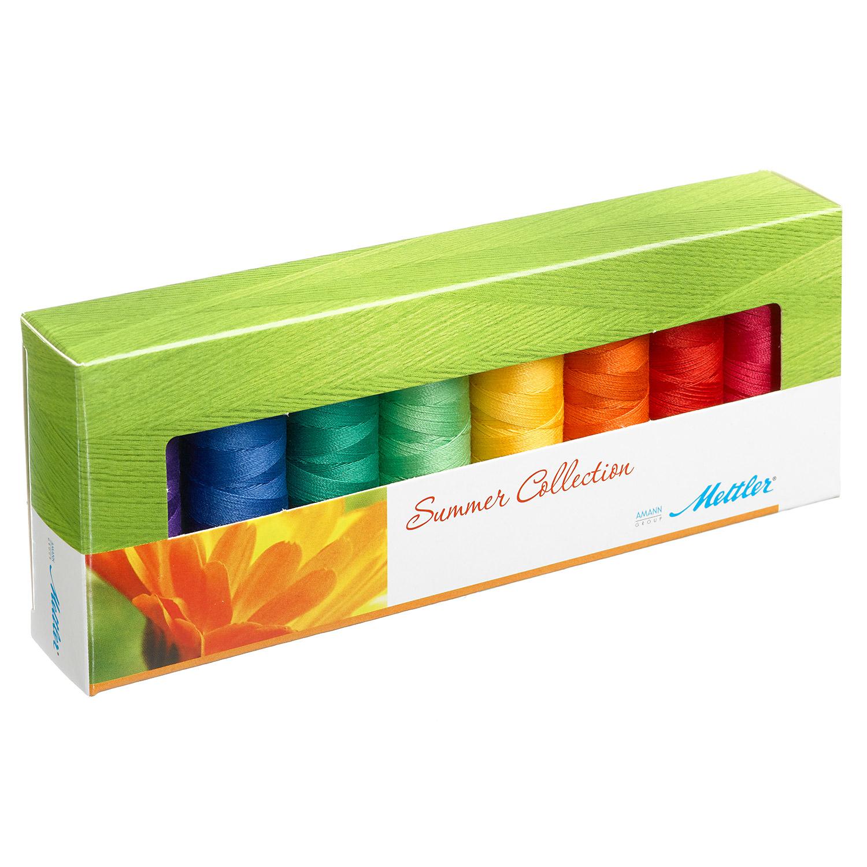 METTLER Farbkit Silk Finish Cotton Summer 8 Spulen 150m