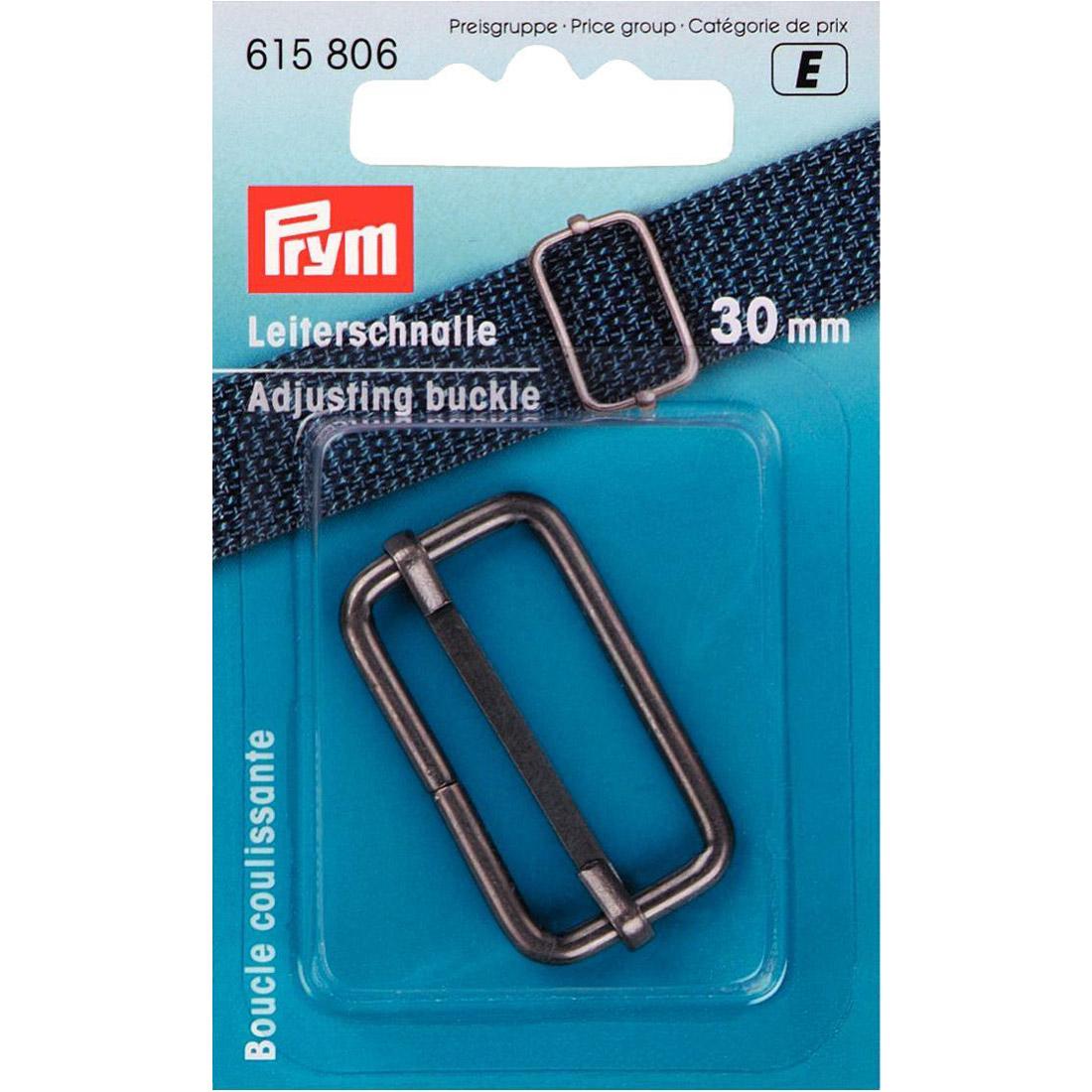 PRYM Leiterschnalle 30mm altsilber
