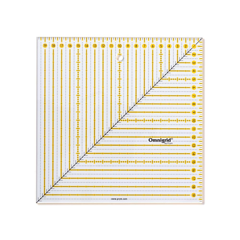 PRYM Patchwork-Lineal Square 20 x 20 cm