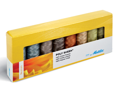 METTLER Farbkit Polysheen 8 Farben 200m Multicolor Neutral