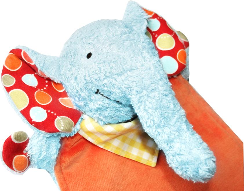 Kullaloo Schnuffeltuch Elefant \