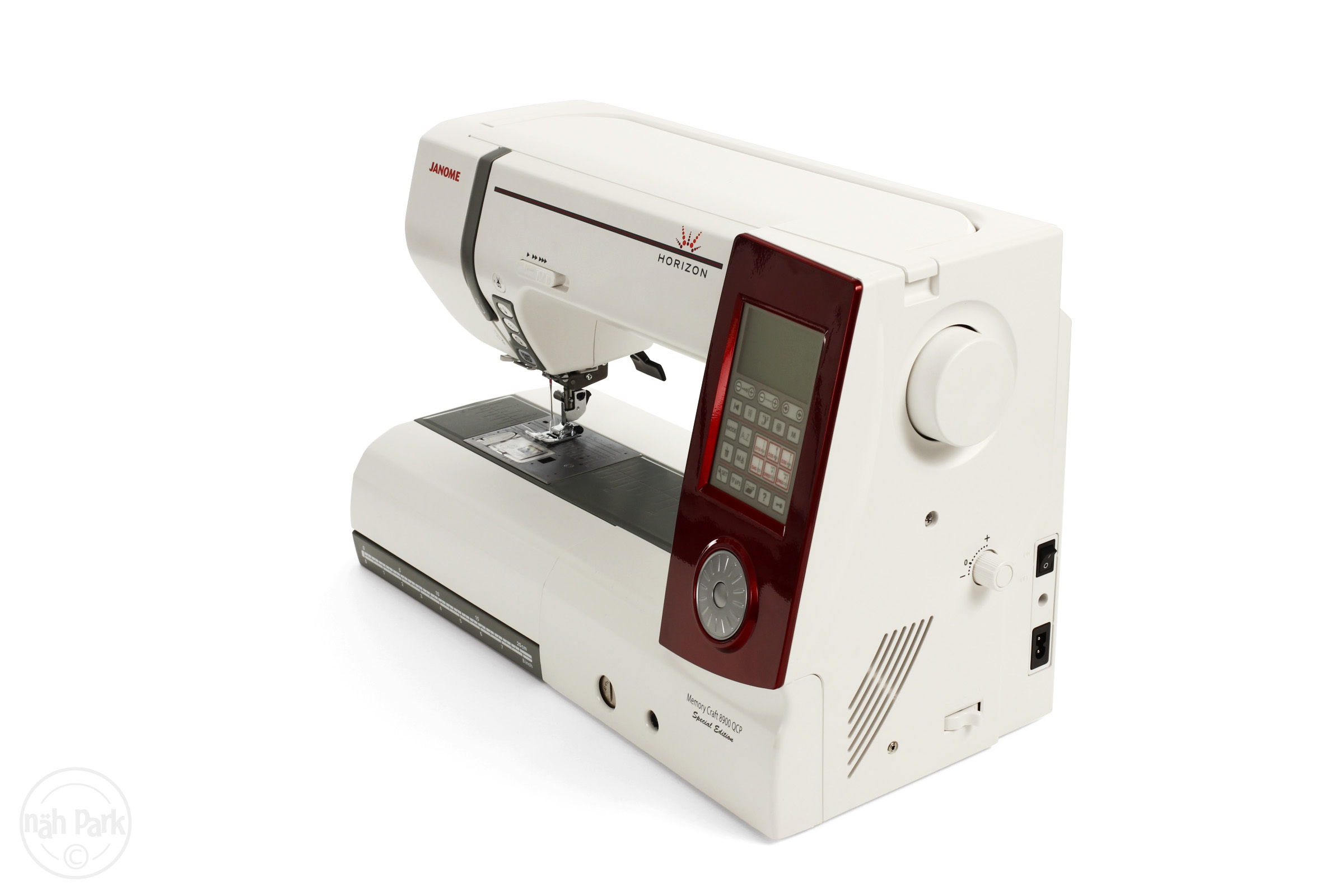 Janome memory craft 8900 - Janome Memory Craft 8900 Qcp Red Edition N Hmaschine
