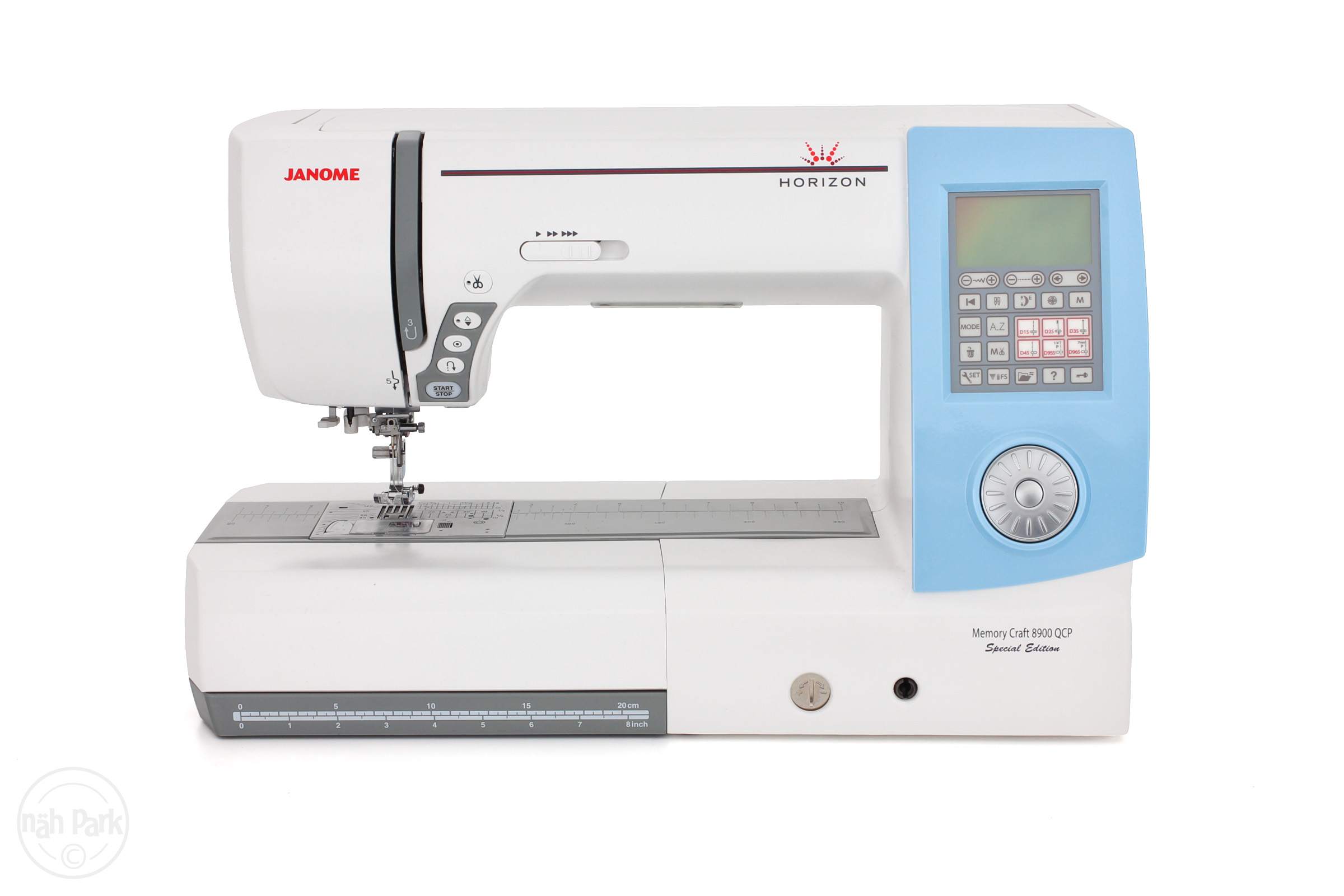Janome memory craft 8900 - Janome Memory Craft 8900 Horizon Qcp Special Edition N Hmaschine