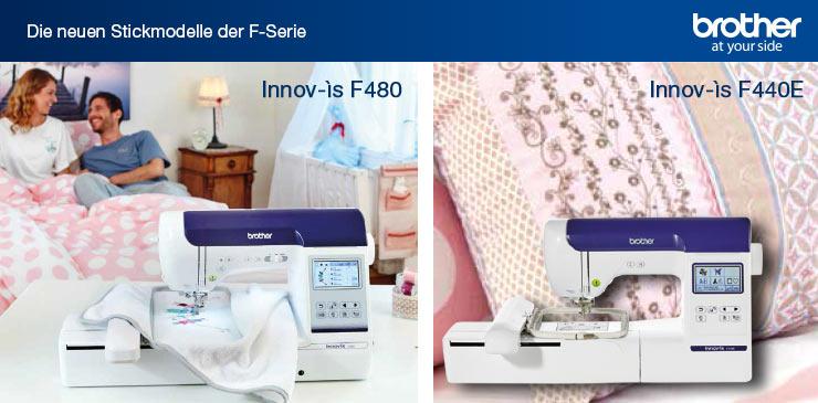 5 Brother Innov-is F480 und F440E
