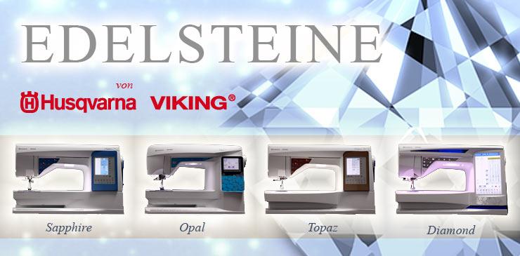 1 Husqvarna Viking Edelsteine