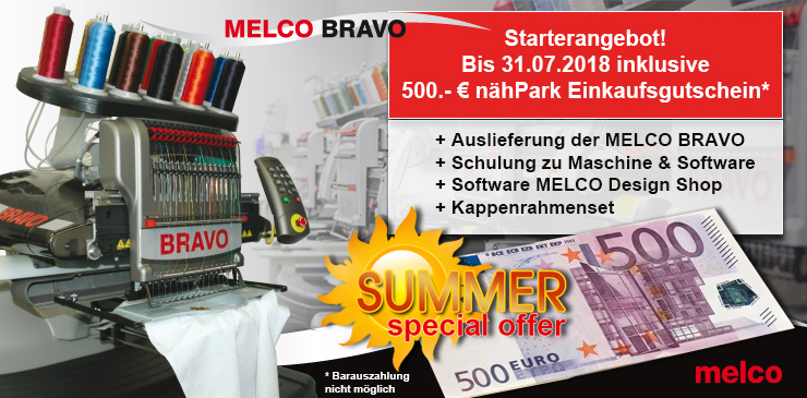 3 MELCO Bravo Summer Special Offer