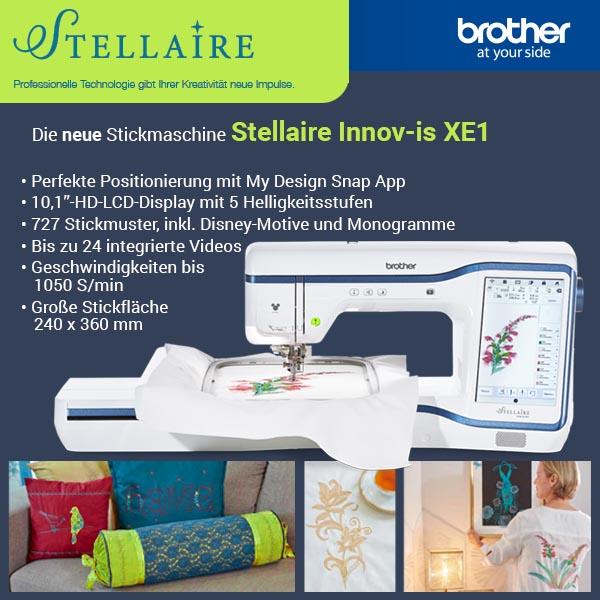 1 Brother Stellaire XE1 xs + sm