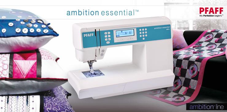 4 Pfaff Ambition Essential