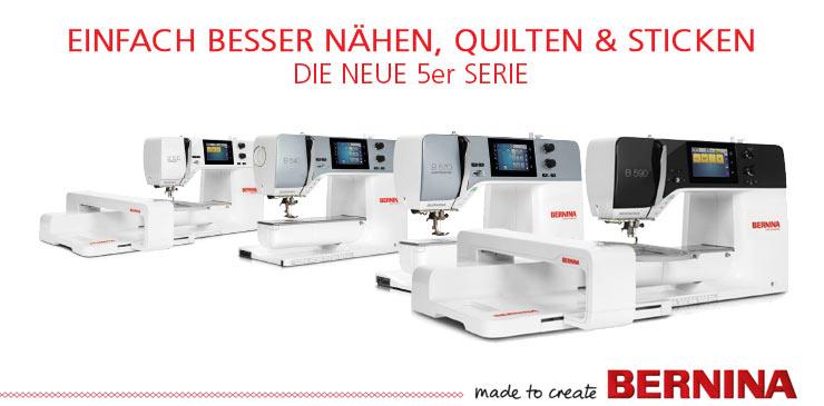 2 BERNINA neue 5er-Serie