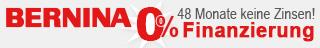 BERNINA Sonderfinanzierung 48 Monate zinsfrei