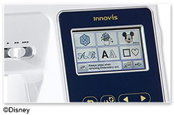 Brother Innov-is M280D - Farbiger LCD-Touchscreen
