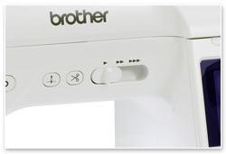 Brother Innov-is F420 Schieberegler Geschwindigkeit