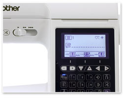 Brother Innov-is F460 Display