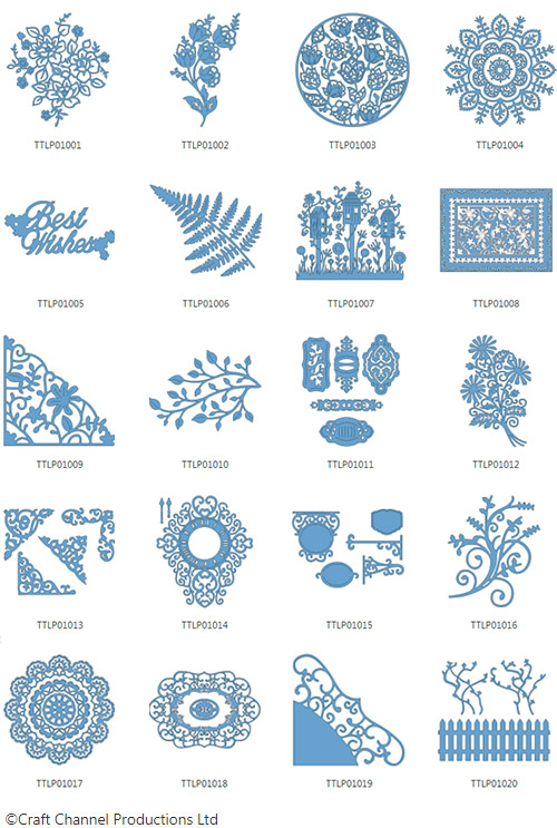 Brother Tattered Lace Pattern Collection 1