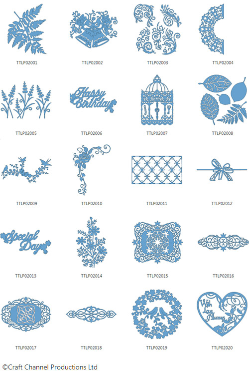 Brother Tattered Lace Pattern Collection 2
