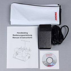 Janome Cover Pro 2000 CPX - Lieferumfang